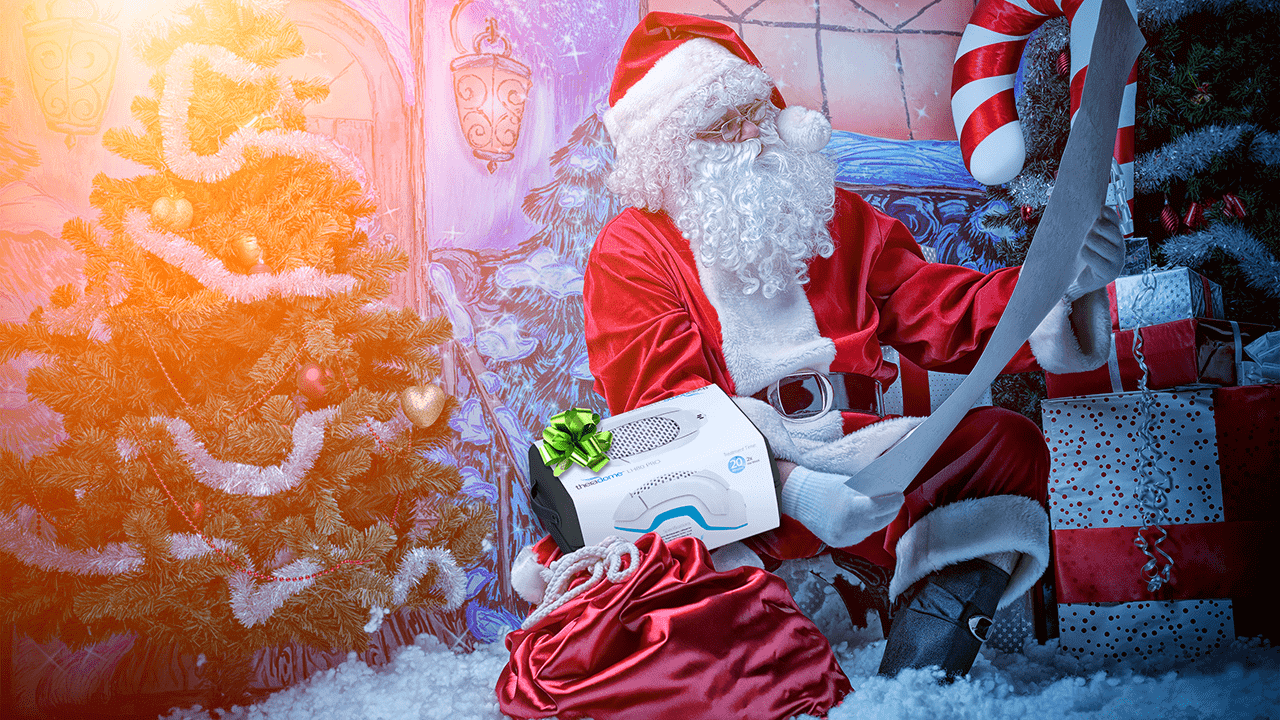 Hair Laser Phototherapy | Theradome | Merry Christmas